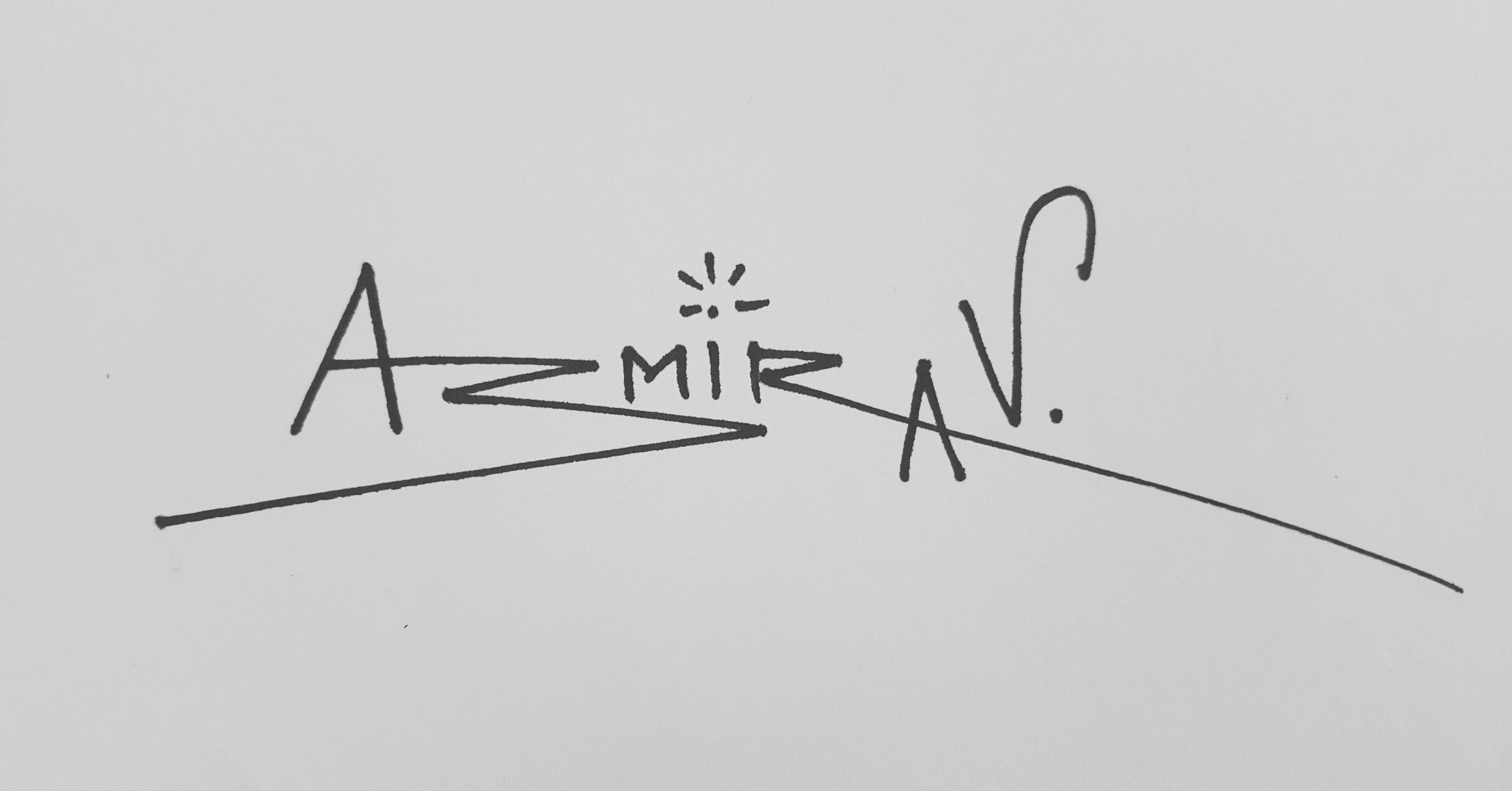 Aastha Asmirav's Signature