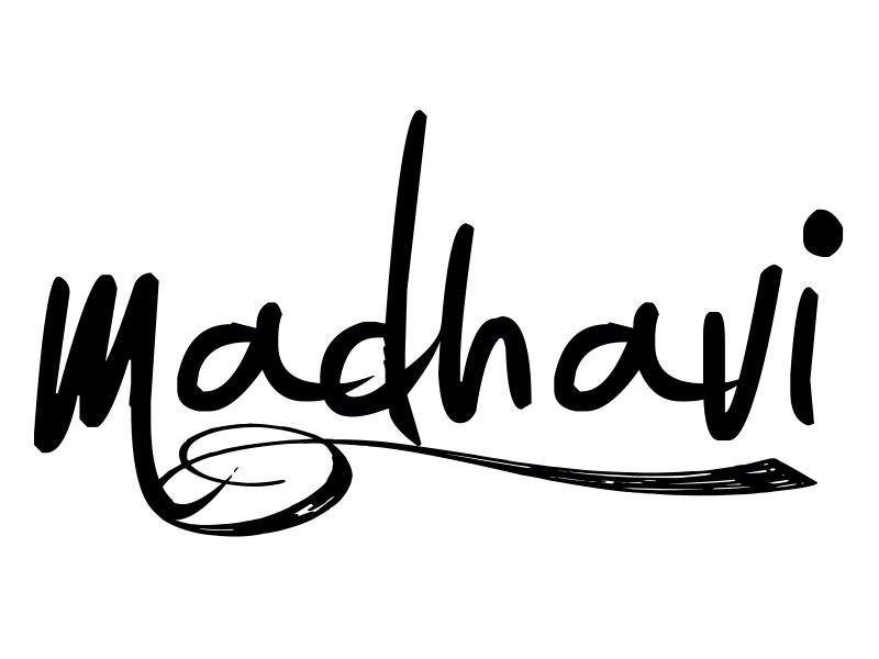 Madhavi Prabhu's Signature