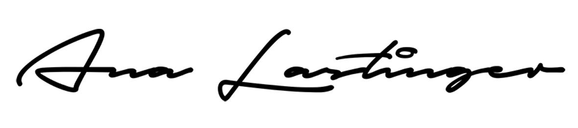 Ana Lastinger's Signature