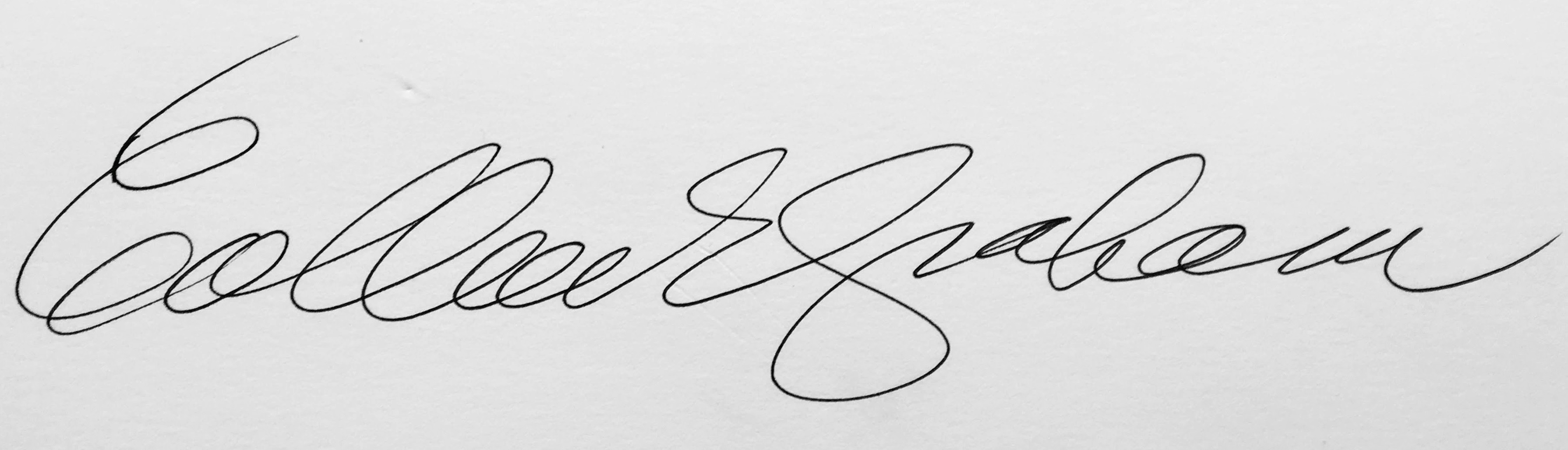 Colleen Graham's Signature