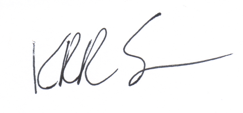 Kenneth Renicker Sr.'s Signature