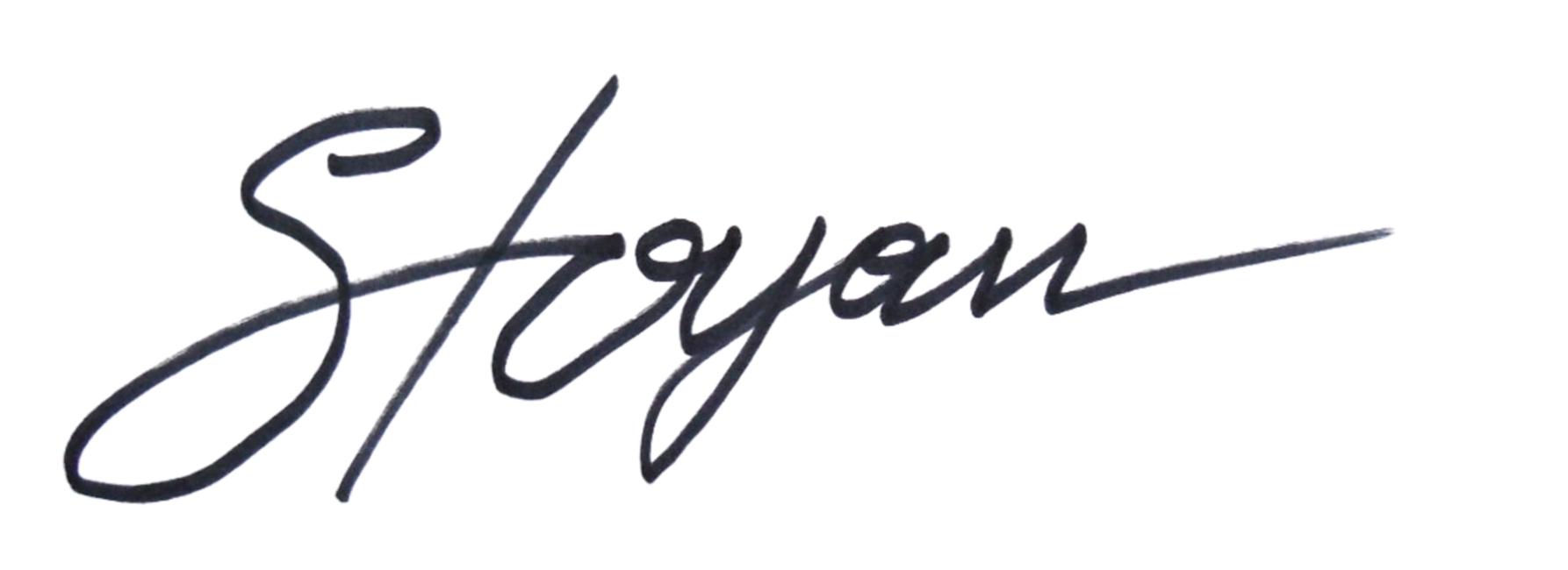 stoyan lechtevski's Signature