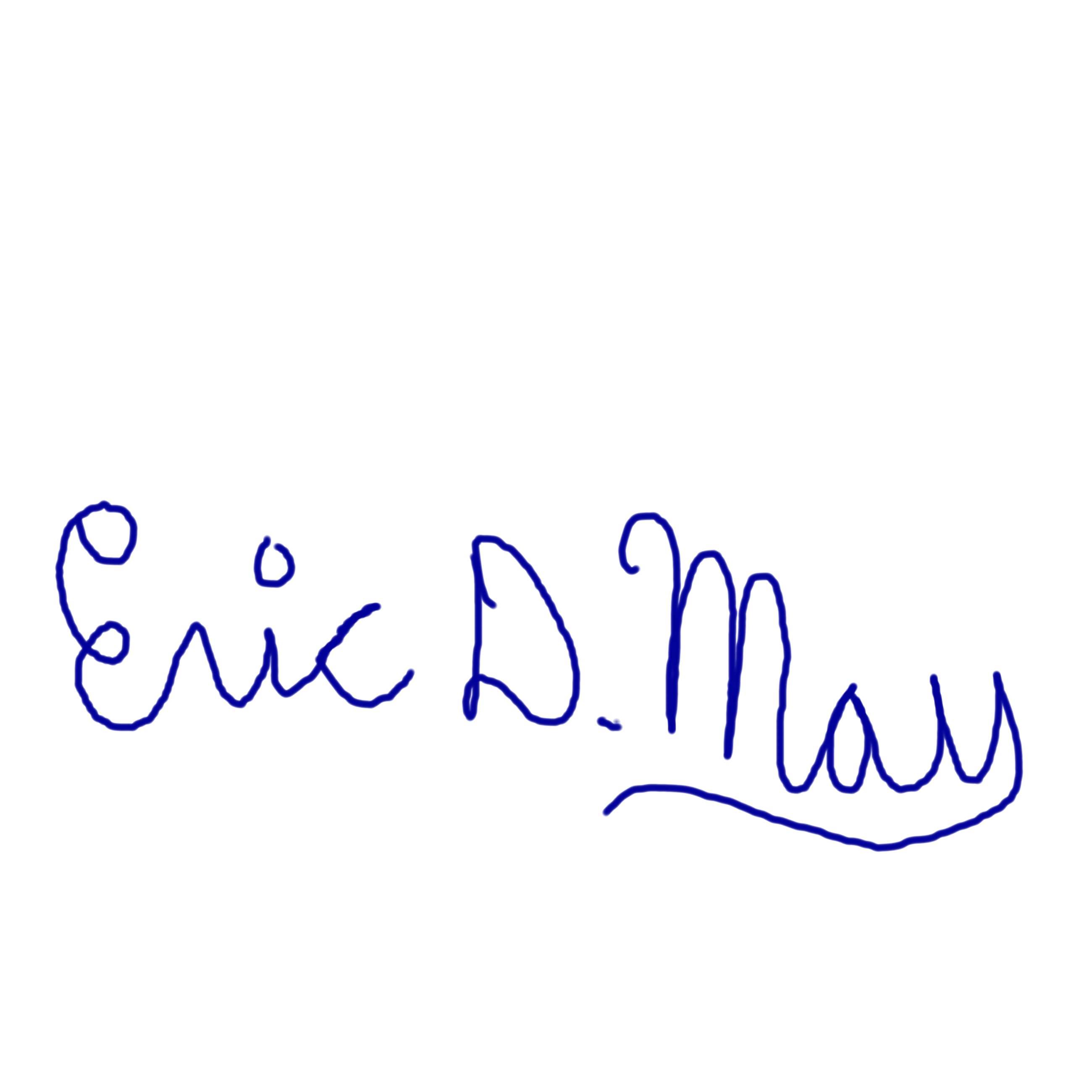 Eric May's Signature