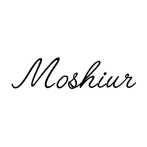 Moshiur Rahman's Signature