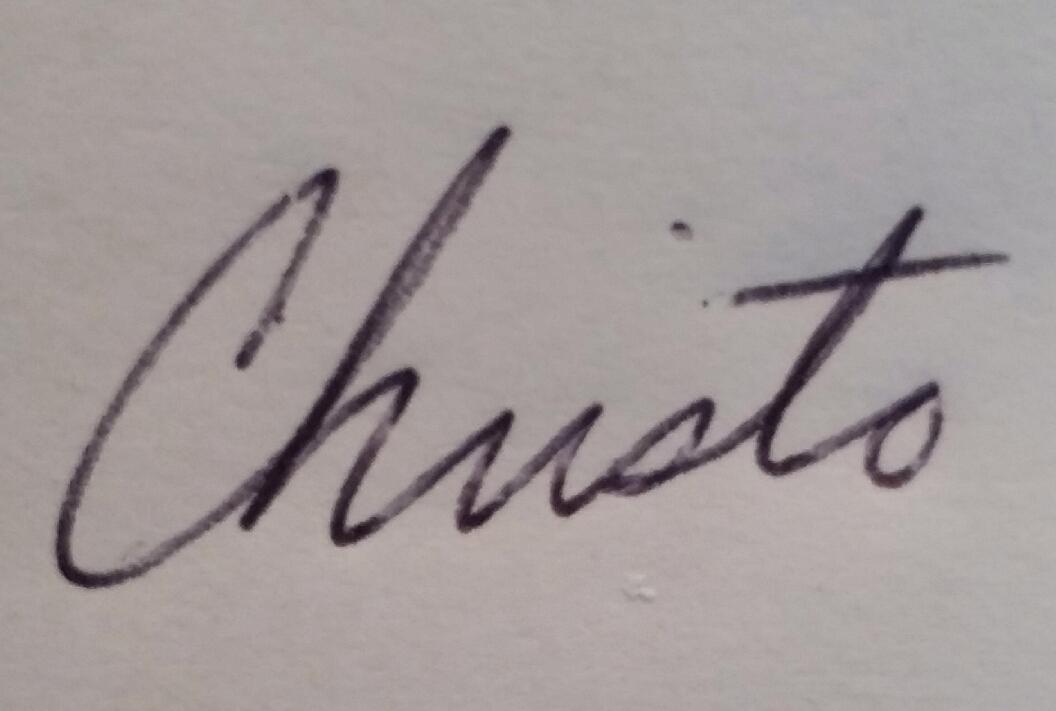 Christo Linquata's Signature
