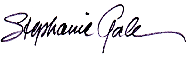 stephanie gale's Signature