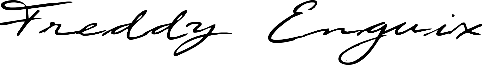 Freddy Enguix's Signature