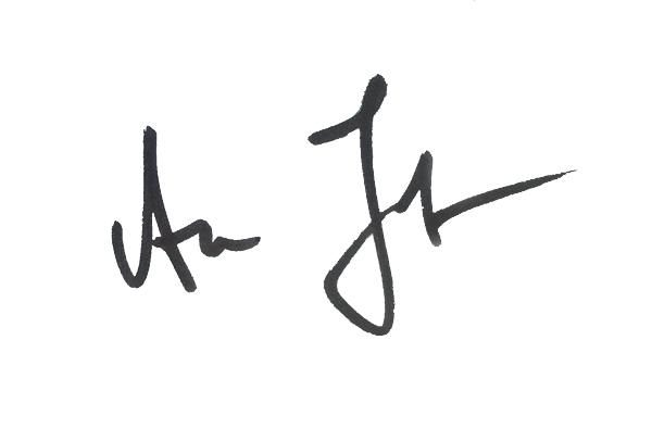 Aleksandra Jelovic's Signature