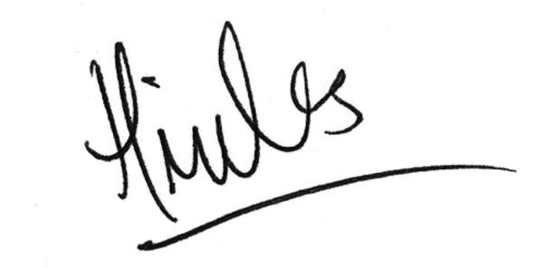 Hannah Miles's Signature