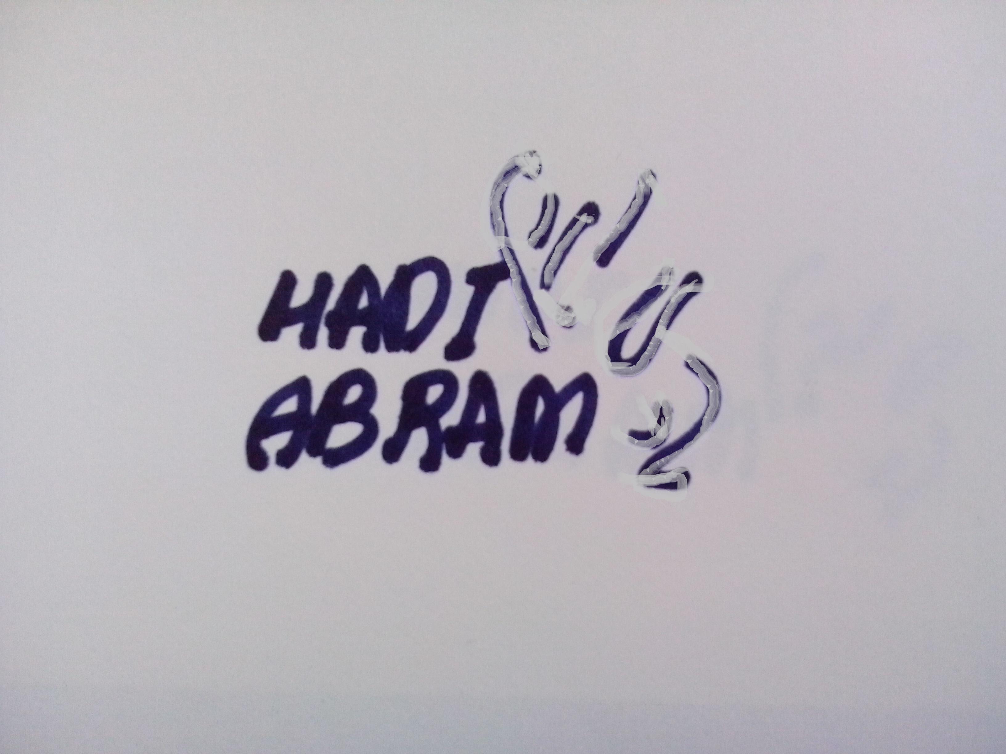 hadi abram's Signature