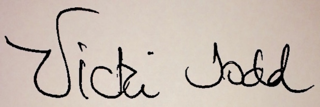 Vicki Todd's Signature