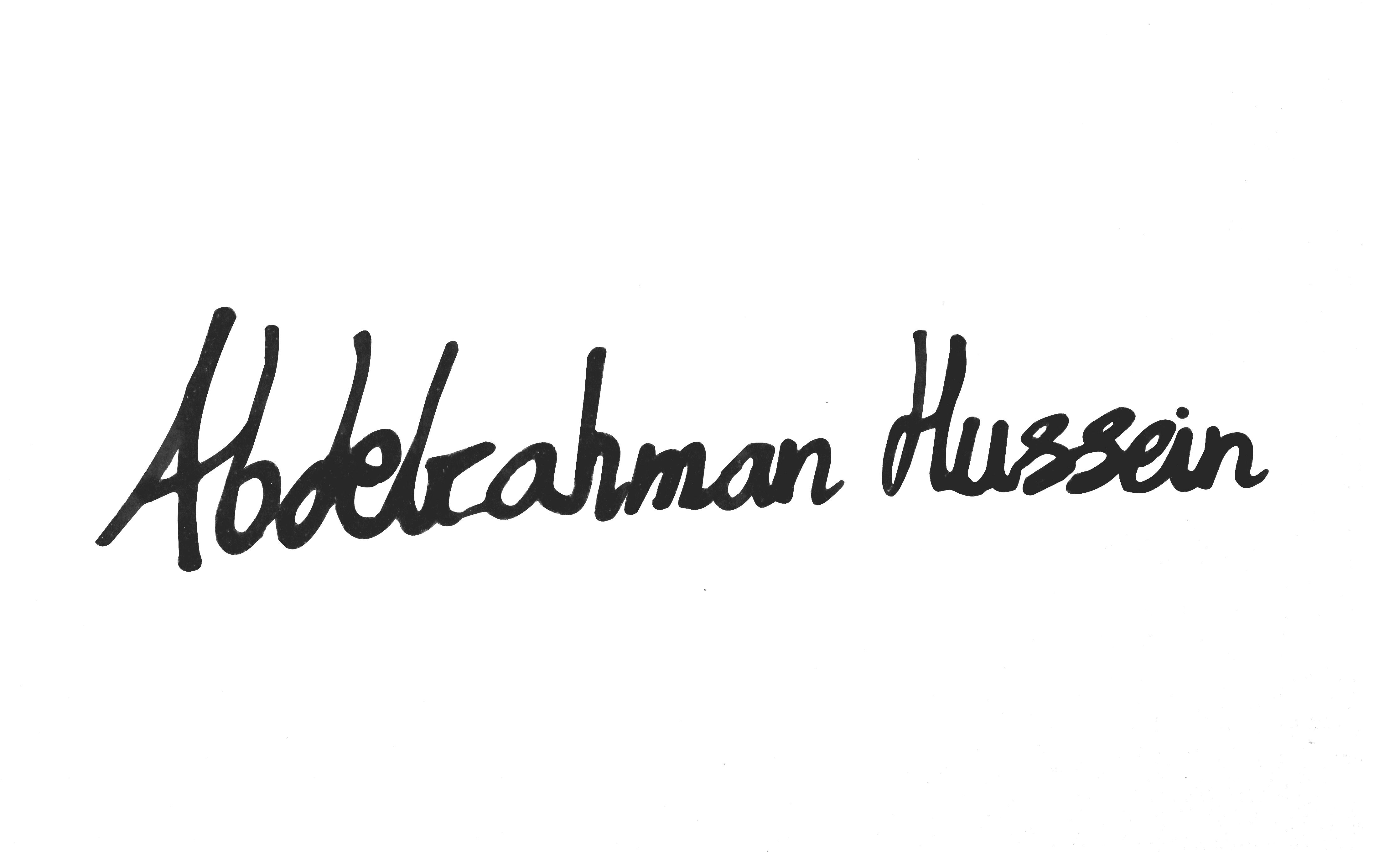 Abdelrahman Abdelazeem's Signature