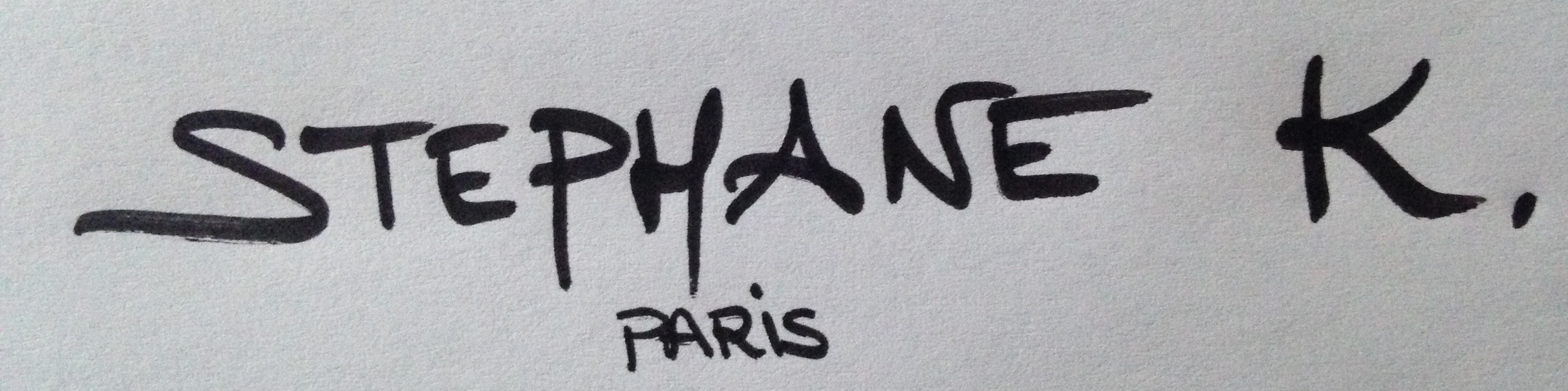 Stephane K.'s Signature