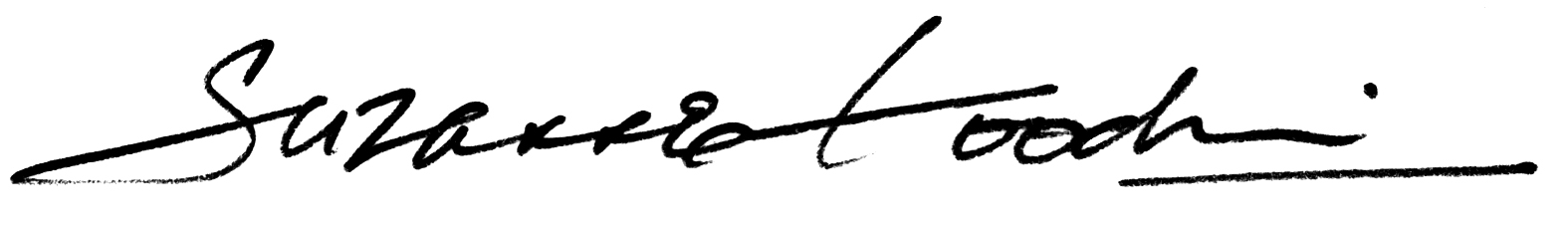 Suzanne Goodwin's Signature