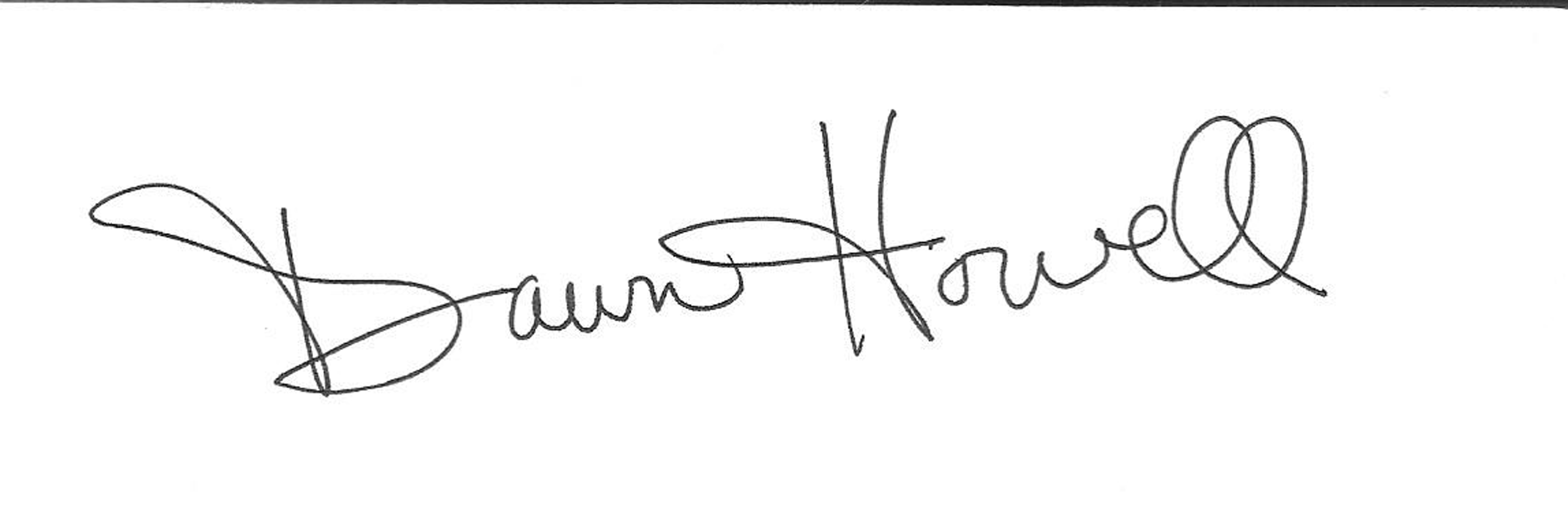 Dawn Howell's Signature