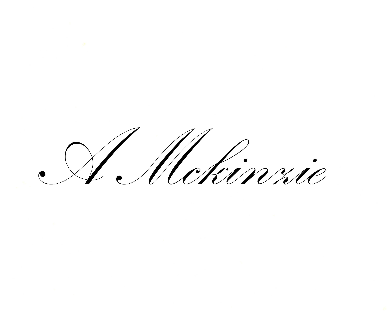 Athena Mckinzie's Signature