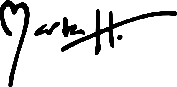 Marta Harvey's Signature