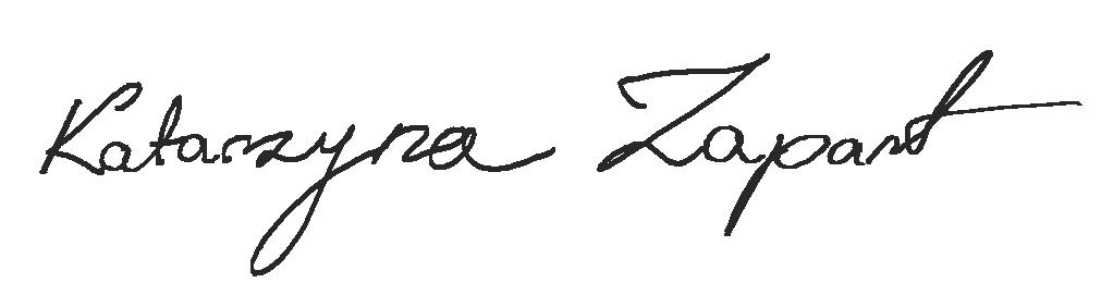 Kasia Zapart's Signature