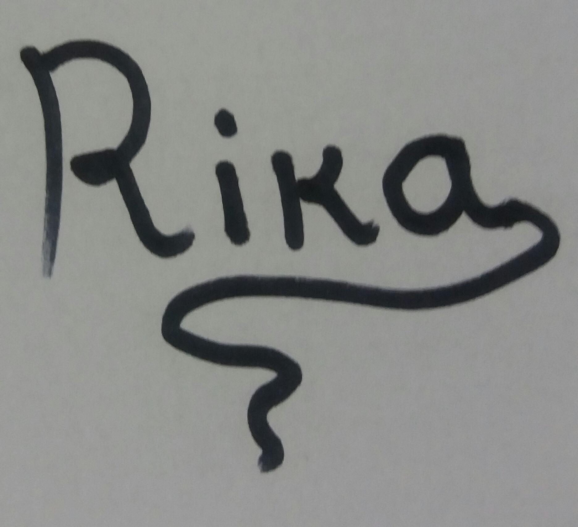Rivka sheffer's Signature