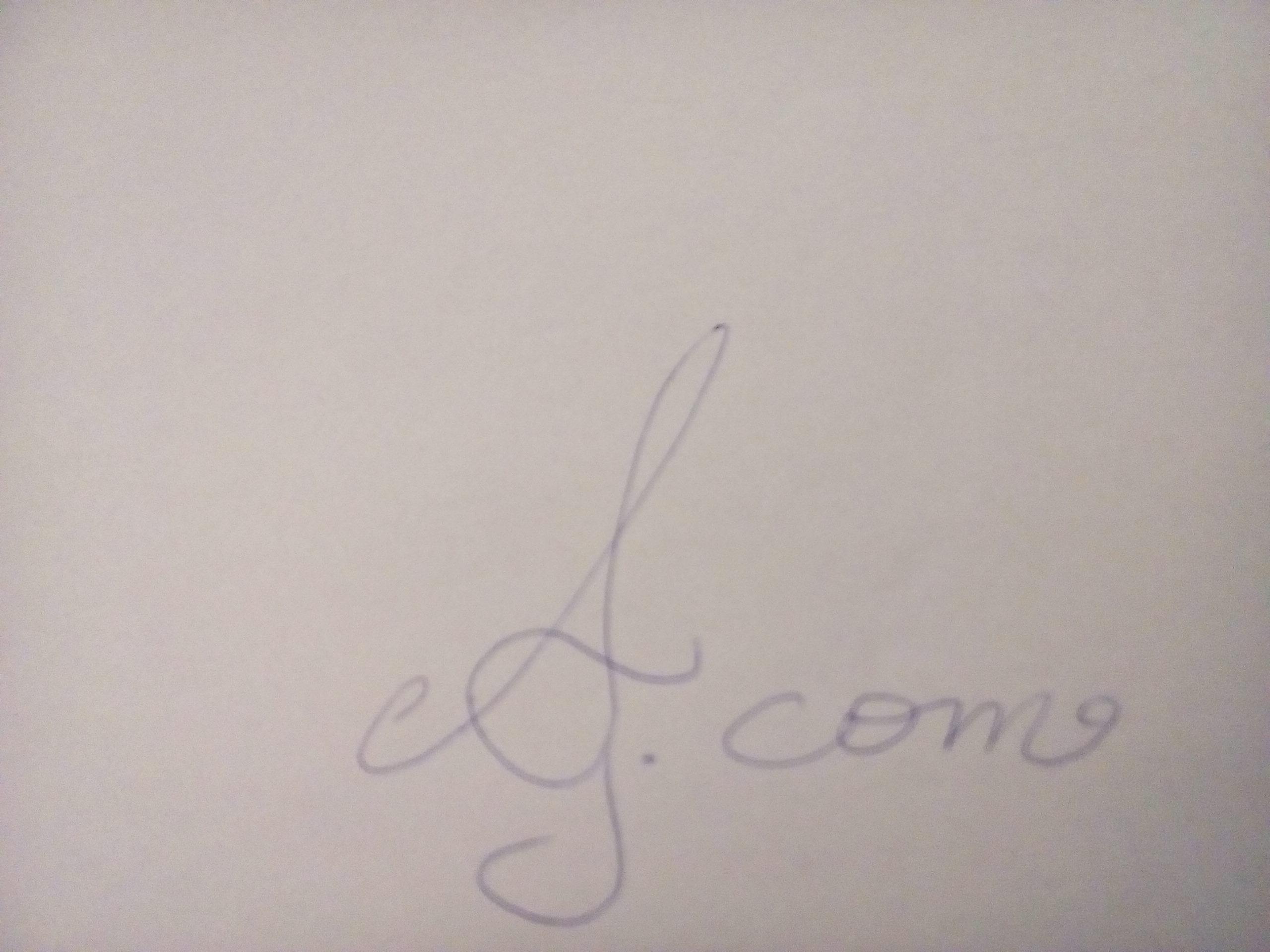 ANASTASIA GIANNOPOULOU's Signature