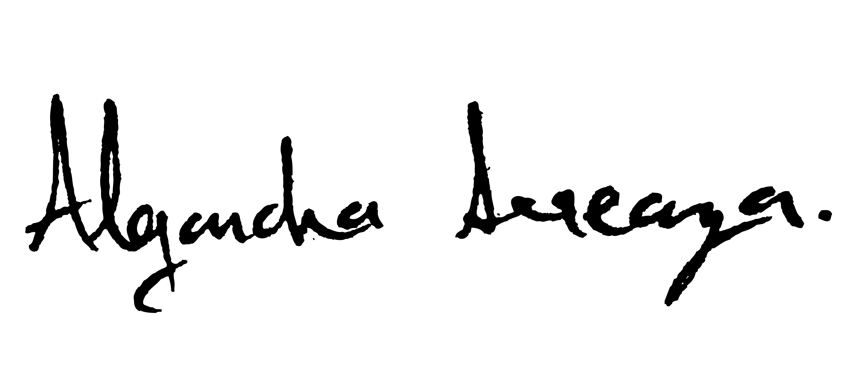Alejandra Arreaza's Signature