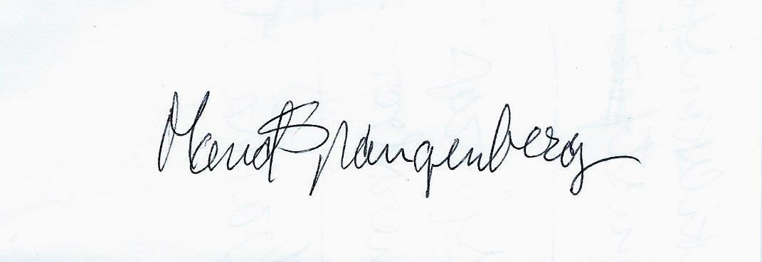 maud spangenberg's Signature