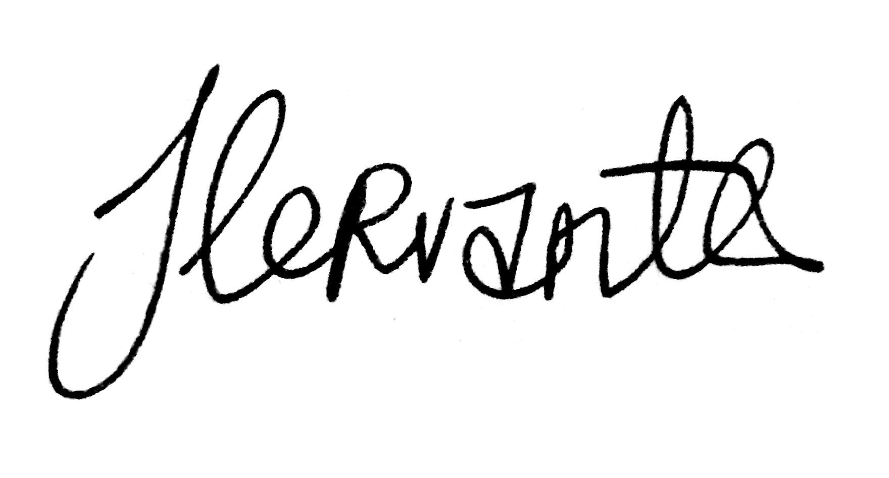 Jeffrey Cervantes's Signature