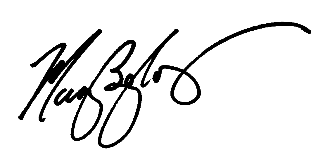MAry Begley's Signature