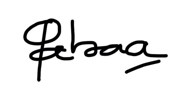 Gabriela Sanchez's Signature