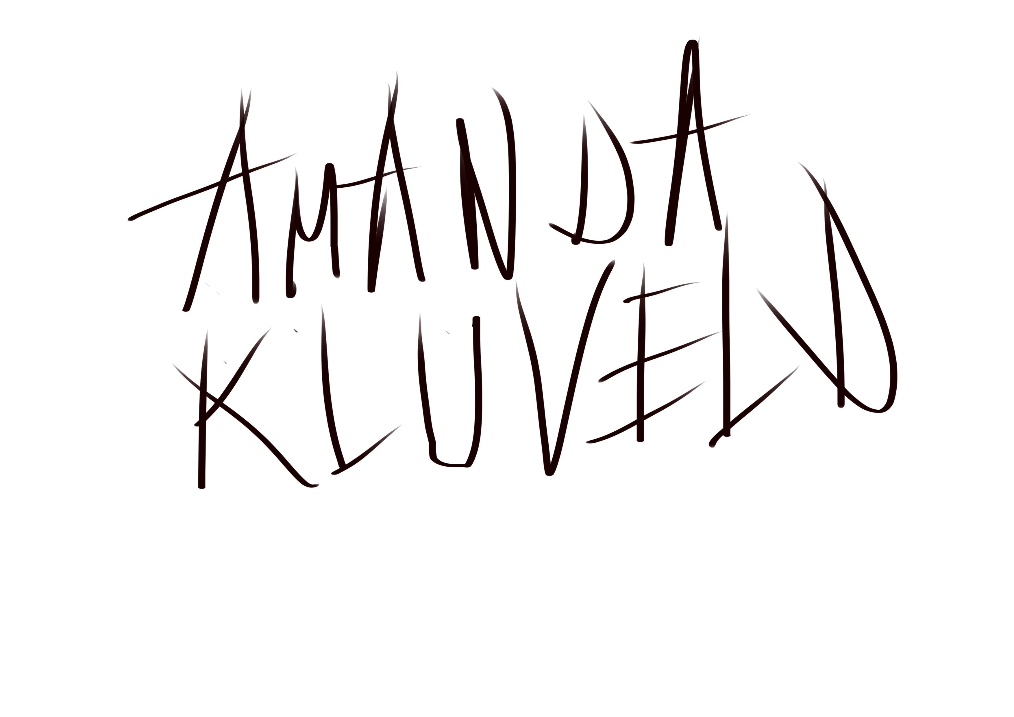 amanda kluveld's Signature