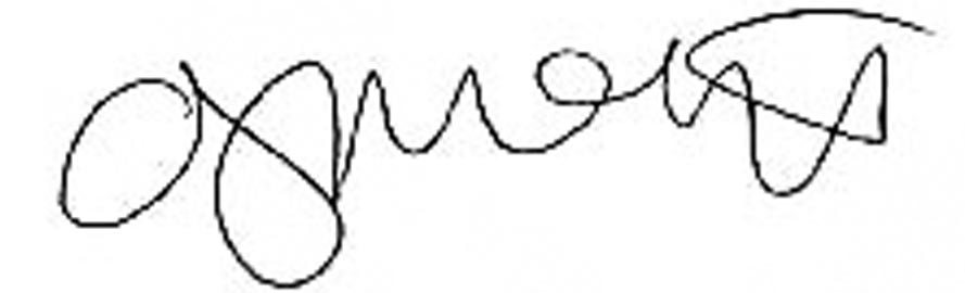 Anna J. McIntyre's Signature