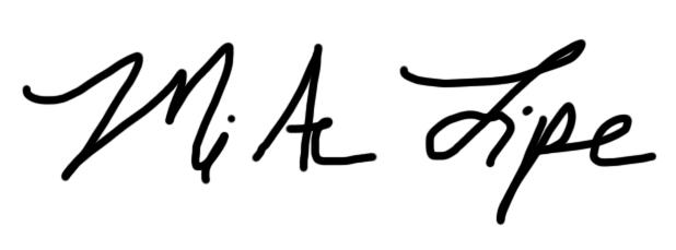 Mi Ae Lipe's Signature