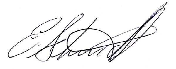 Erica Schmidt's Signature