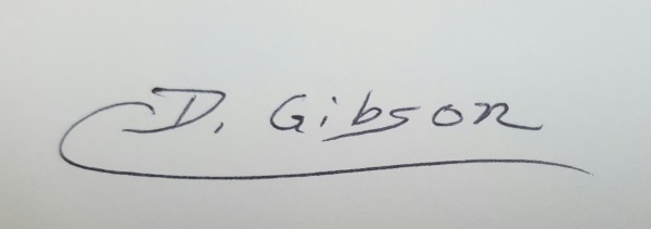 Dianne Gibson's Signature