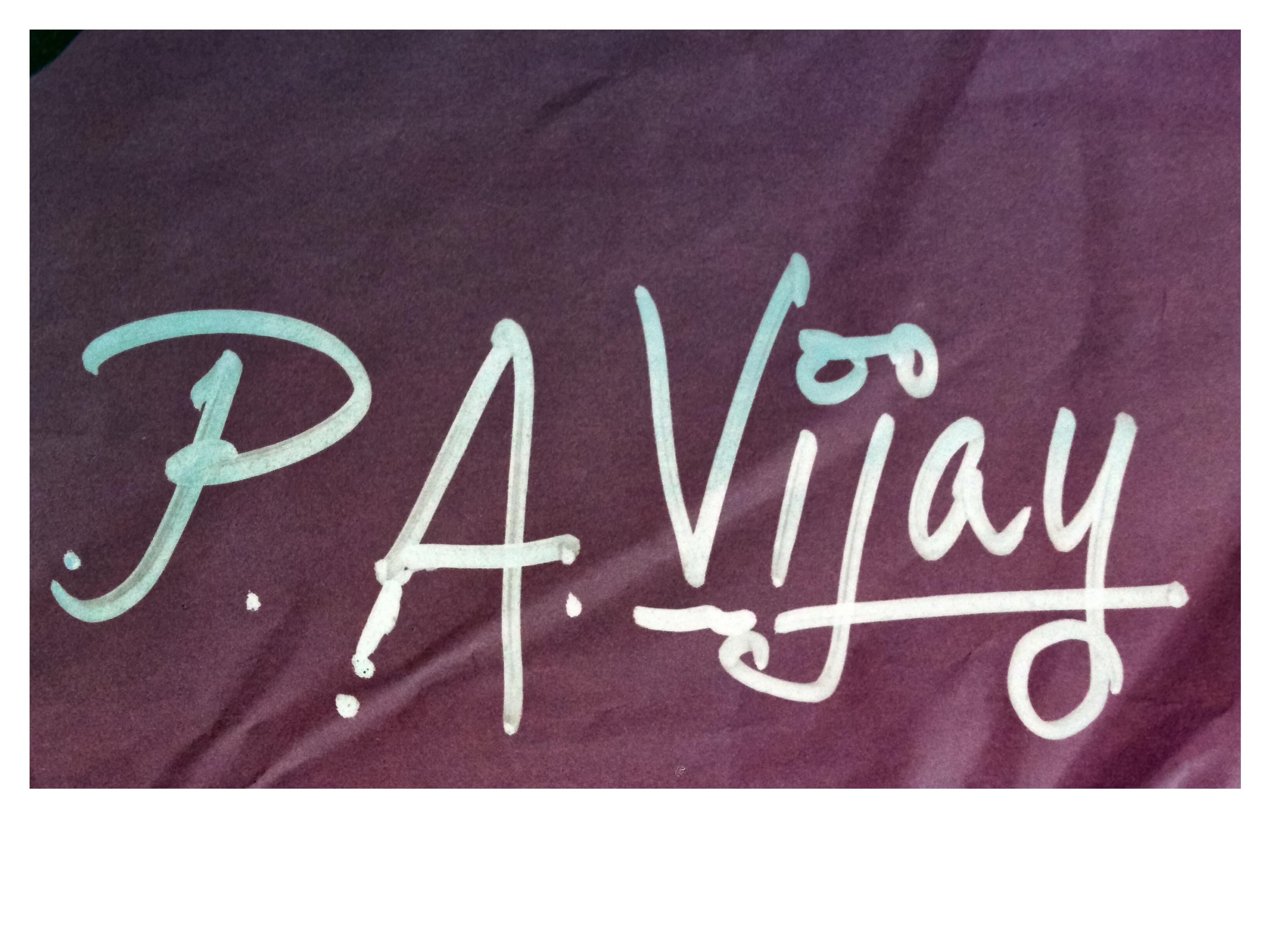 Vijaykumar  Pulawar's Signature