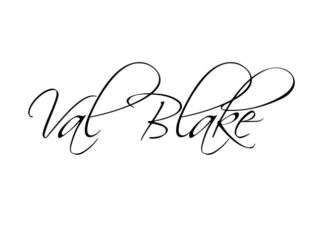 Val Blake's Signature