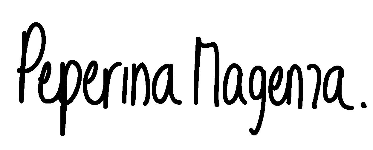 Peperina Magenta's Signature