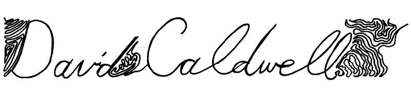 david caldwell's Signature