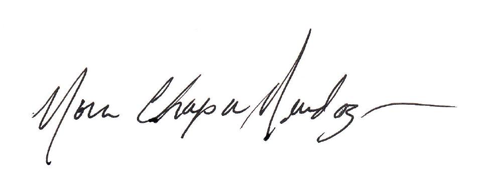 Nora mendoza's Signature