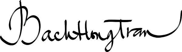 Bach Hong Tran's Signature
