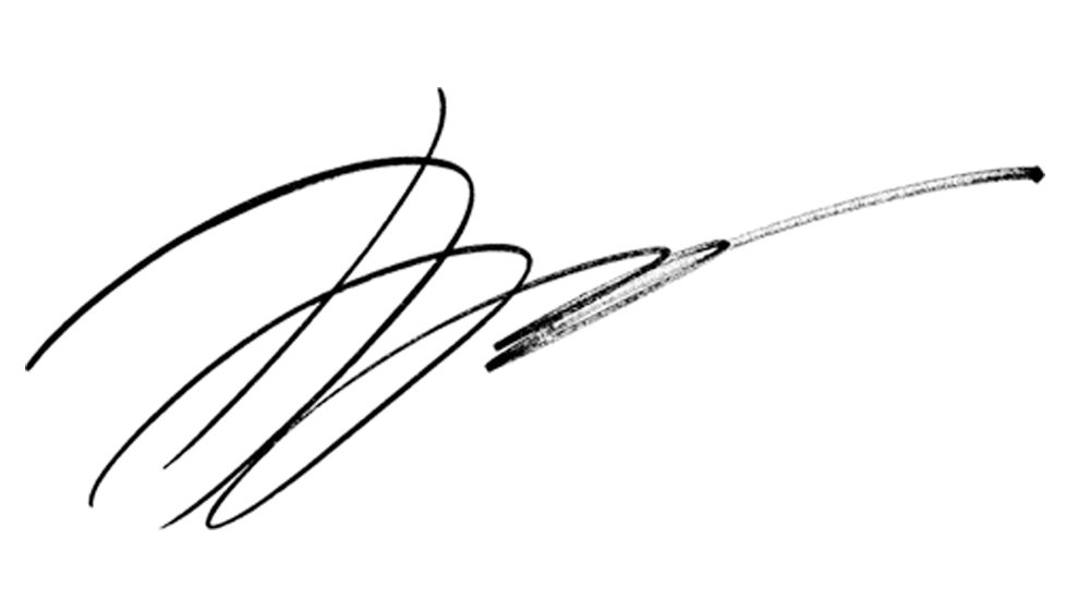 sien he's Signature