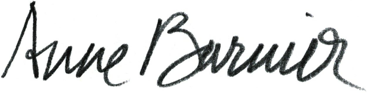 Anne Barnier's Signature