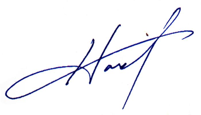 Howard Harris's Signature