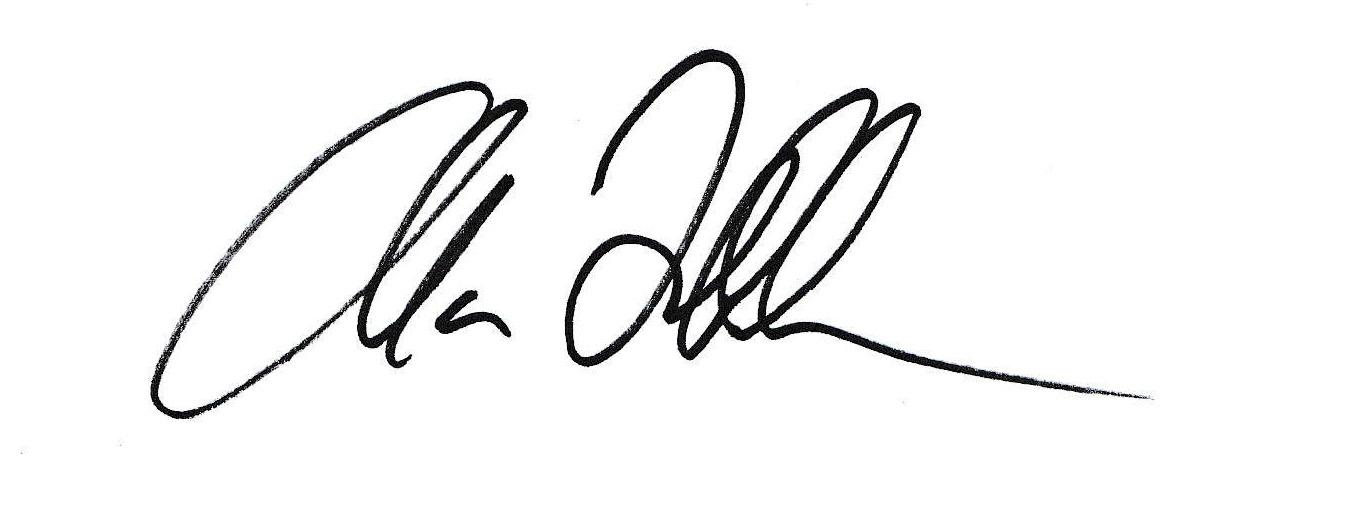 Alan Frohlichstein's Signature