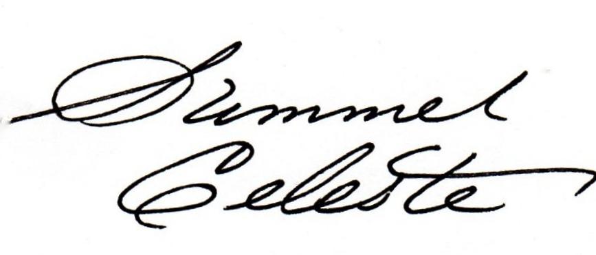 Summer Celeste's Signature