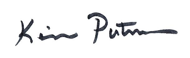 Kim Putnam's Signature