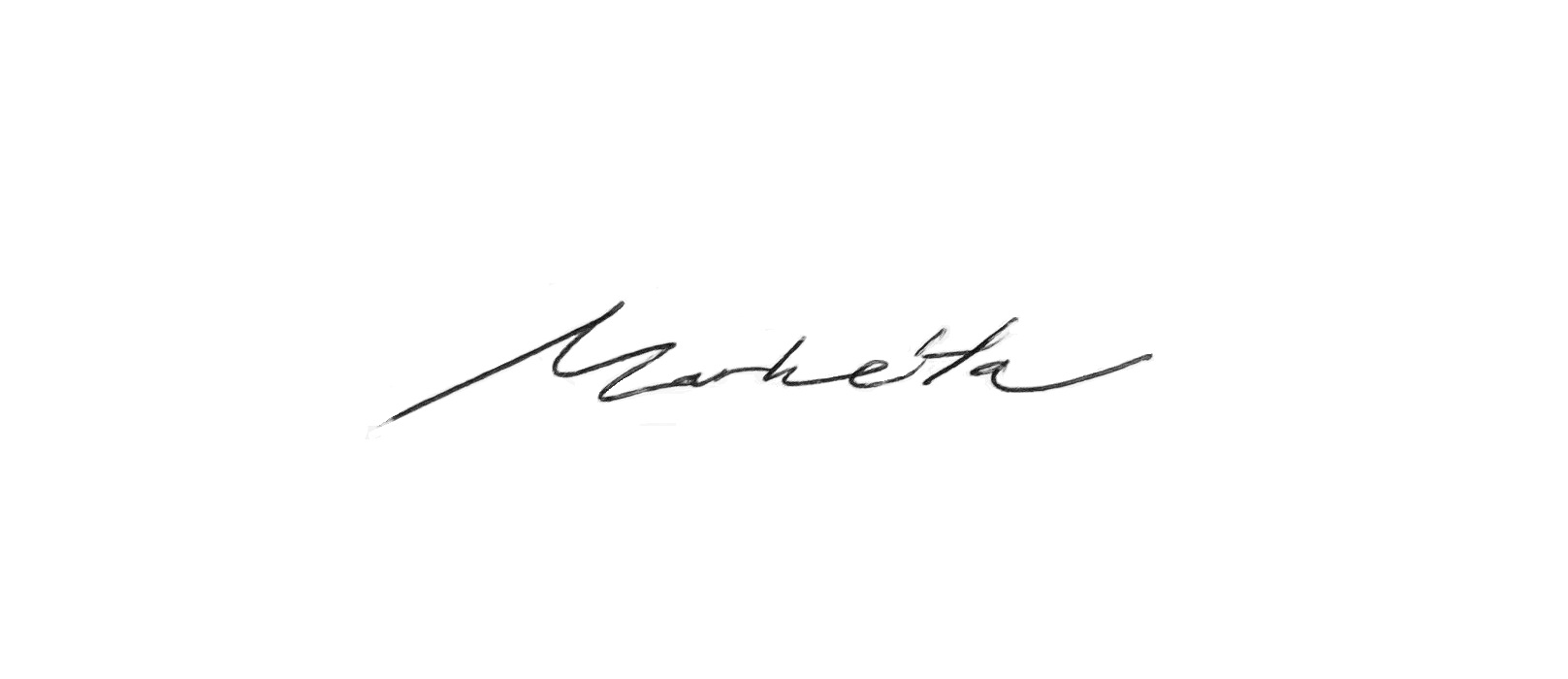 Markéta Svobodová's Signature