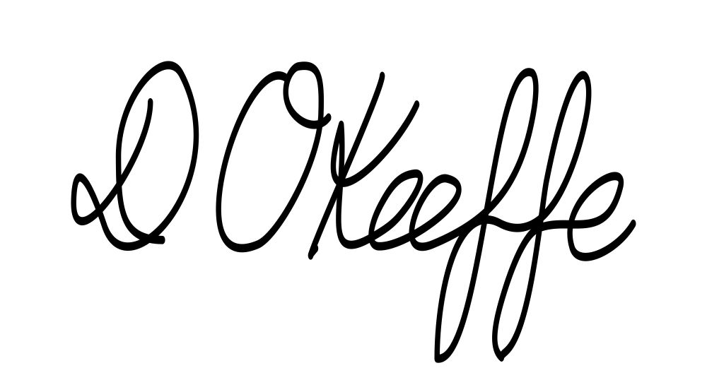 Dilek  OKeeffe's Signature