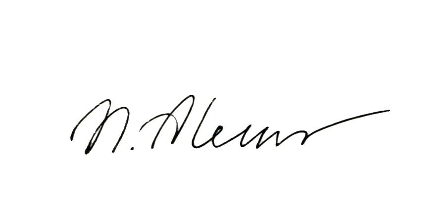 Natalia Aleksandrovskaya's Signature