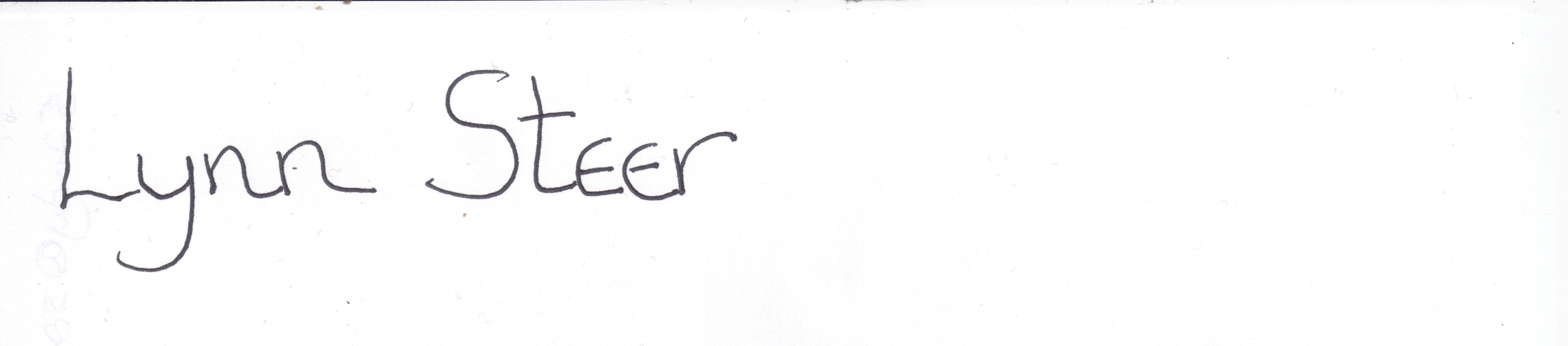 Lynn Steer's Signature